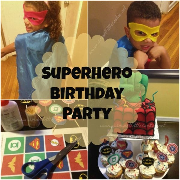 Superhero Birthday | SmartLittleCookie.net
