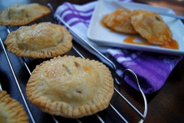 Dulce de Leche Hand Apple Pies