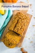 Pumpkin Banana Bread - Smart Little Cookie