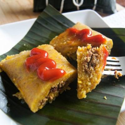 Pasteles en Hoja (Dominican Style Tamales)