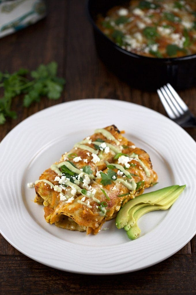Pumpkins Enchiladas - Jessica Gavin   SmartLittleCookie.net