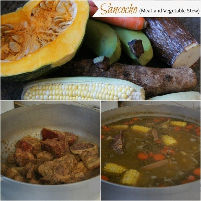 Sancocho (Meat and Vegetable Stew) | SmartLittleCookie.net
