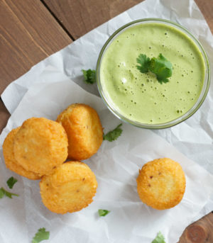Yuca Balls Stuffed with Cheese | SmartLittleCookie.net