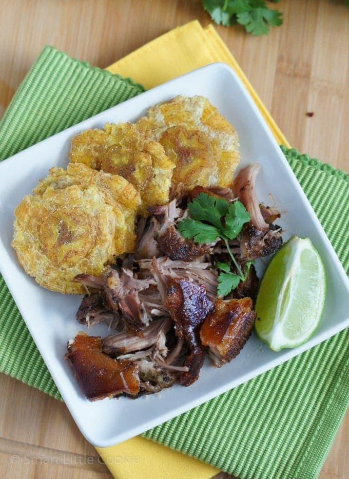 Roasted Pork Shoulder | SmartLittleCookie.net