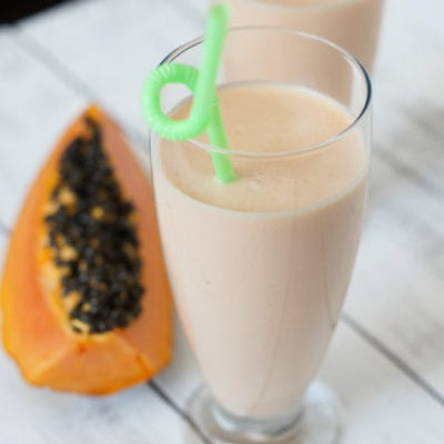 Papaya Milkshake | SmartLittleCookie.net