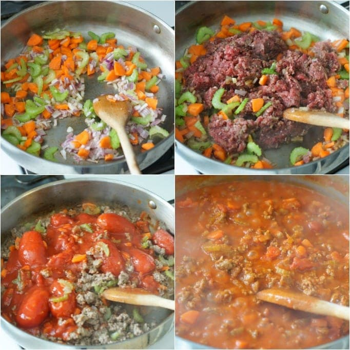 Barilla® Spaghetti with San Marzano Tomato Meat Sauce | SmartLittleCookie.net