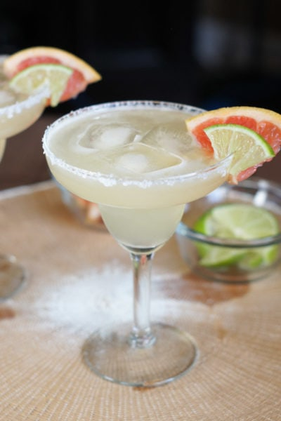 Grapefruit Lime Margaritas   SmartLittleCookie.net