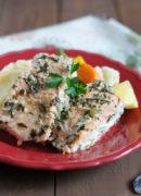 Foiled Baked Salmon | SmartLittleCookie.net