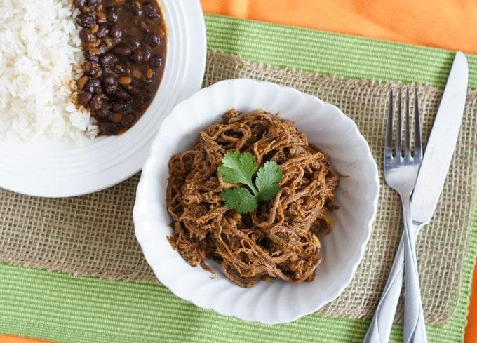 Slow Cooker Shredded Beef | SmartLittleCookie.net