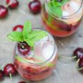 Cherry Mojito | mydominicankitchen.com