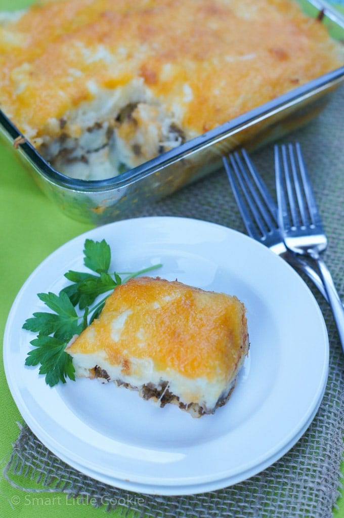 Mashed Potatoes And Beef Casserole Pastelon De Papas Smart Little Cookie