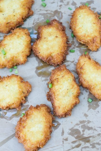 Yuca Fritters ~ A delicious and simple recipe that makes a great snack, appetizer or a second side dish for any meal!