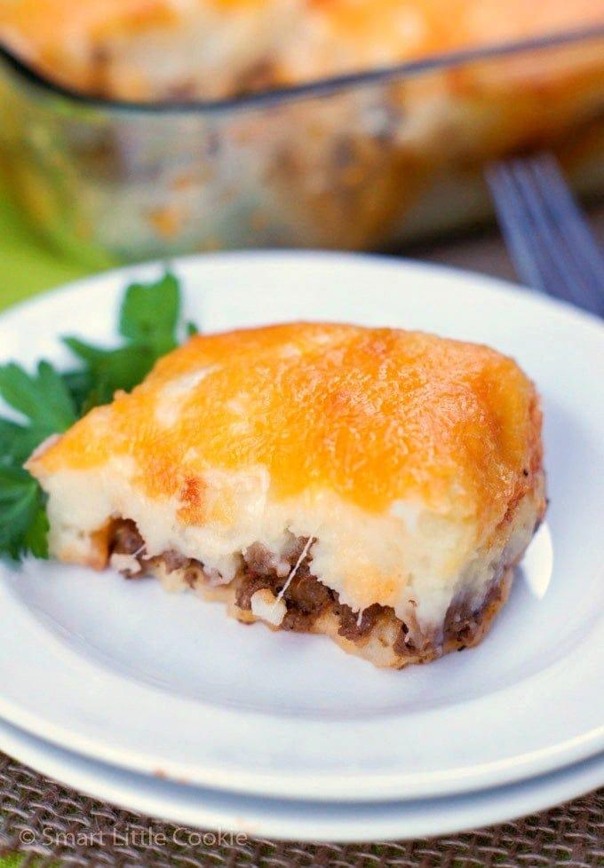 Mashed Potatoes and Beef Casserole |mydominicankitchen.com