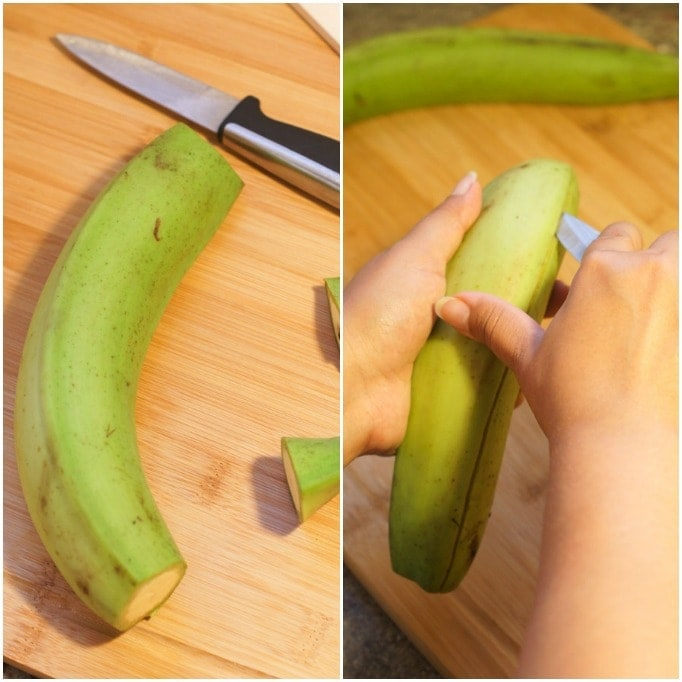 How to Peel Plantains | smartlittlecookie.net