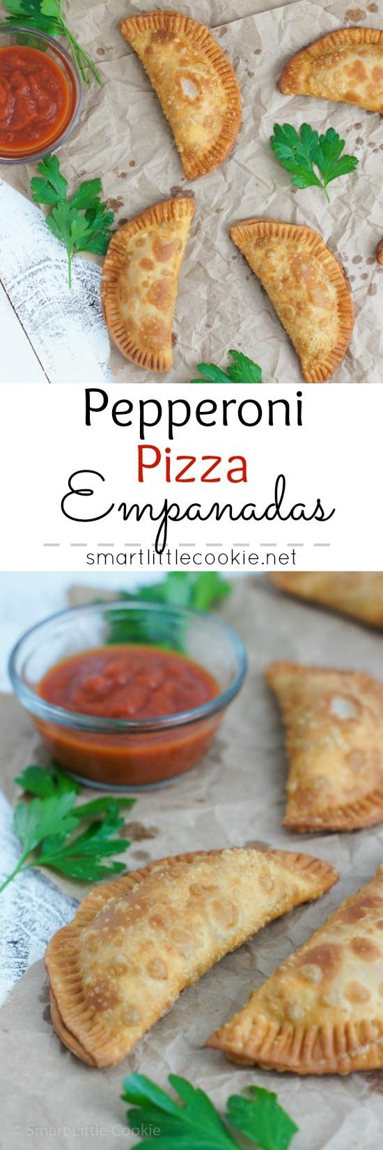 Pepperoni Pizza Empanadas |smartlittlecookie.net