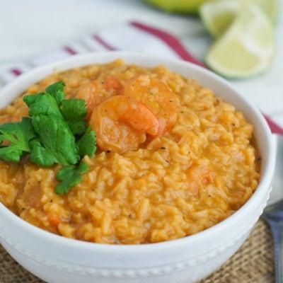 Shrimp and Rice Soup (Asopao de Camarones)