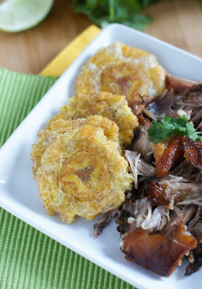PLANTAIN RECIPES - Tostones Twice Fried Plantains | Smartlittlecookie.net