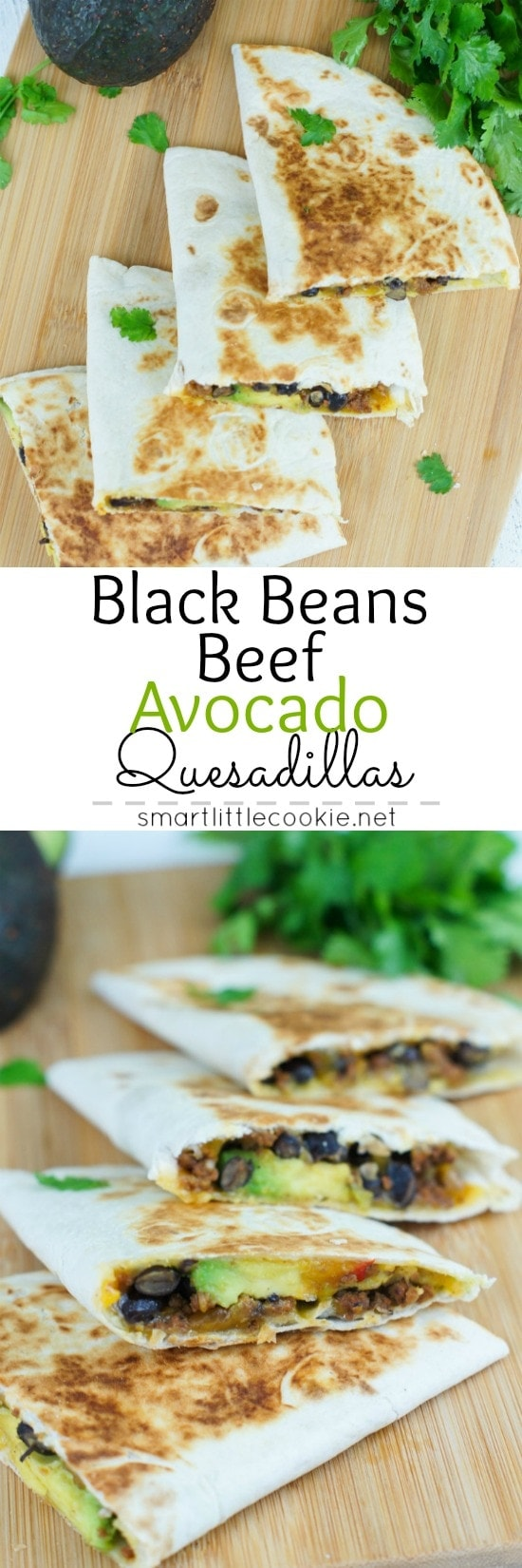 Black Beans Beef and Avocado Quesadillas 10
