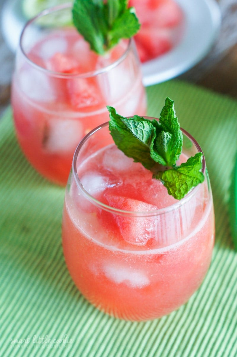 Watermelon Agua Fresca ~ Cool down with this sweet, fruity and refreshing drink that is perfect for hot summer days.