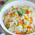 Arroz Primavera (Spring Rice) ~ Colorful vegetables mixed in delicious white rice and cooked to perfection.