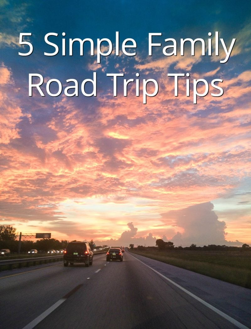 Five really simple family road trip tips that will keep you sane and ensure an enjoyable trip. #Familyroadtrip smartlittlecookie.net