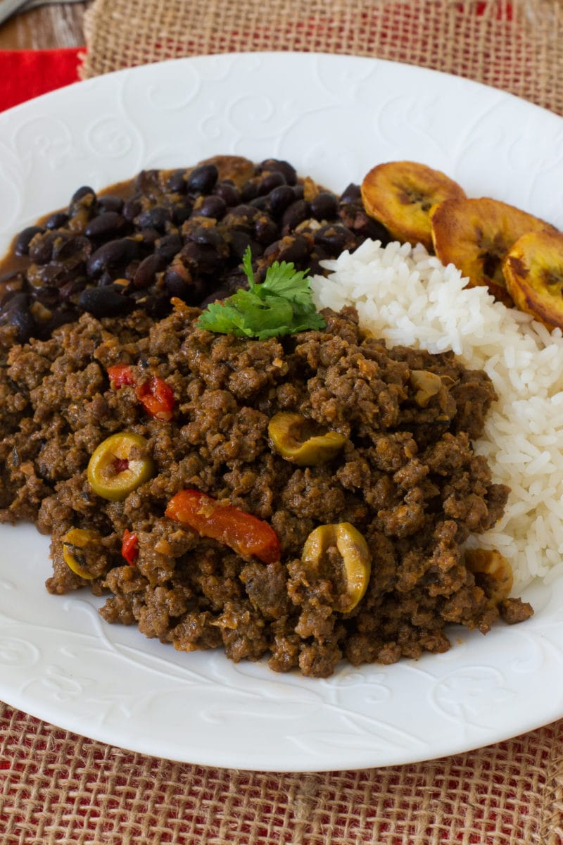 Beef Picadillo is a delicious, quick fix, easy dish filled with flavor. It is perfect for weeknight dinners, layered in casseroles and even as a filling for your homemade savory pastries. #easyrecipe #weeknightmeal smartlittlecookie.net