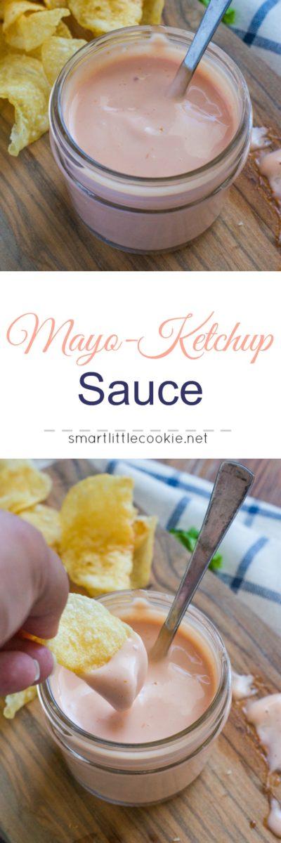 Mayo ketchup sauce image collage