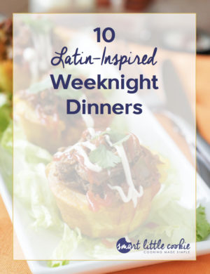 Free Latin Inspired Weeknight Dinners e-book. Download today.