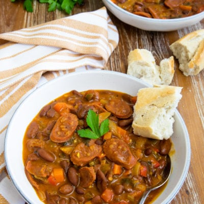 Chorizo and Bean Stew