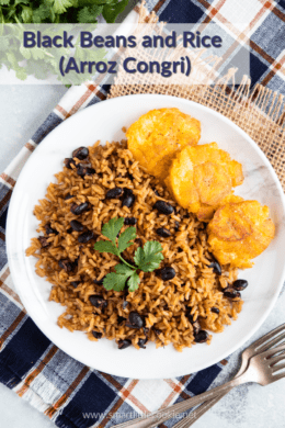 Black Beans and Rice (Congri)