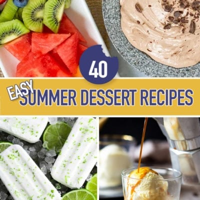 40 Easy Summer Dessert Recipes