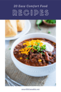 easy comfort food recipes text overlay 3