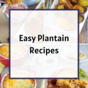 Plantain Recipes Ideas from Smartlittlecookie.net