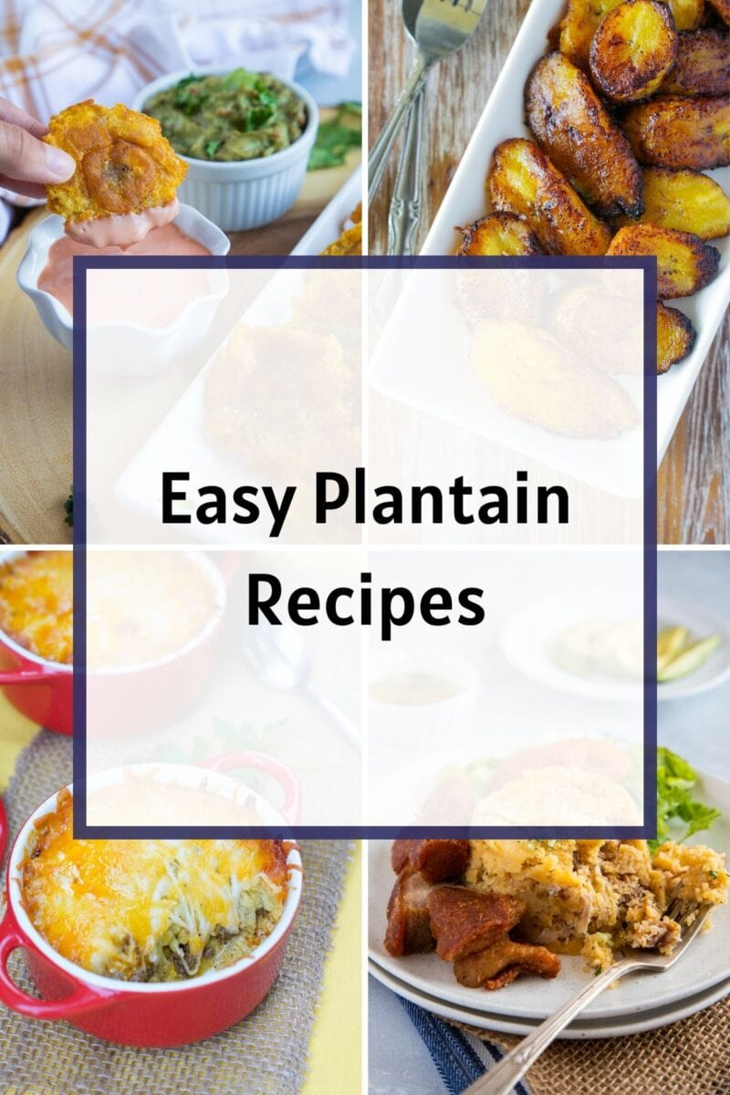 Plantain Recipes Ideas from Smartlittlecookie.net