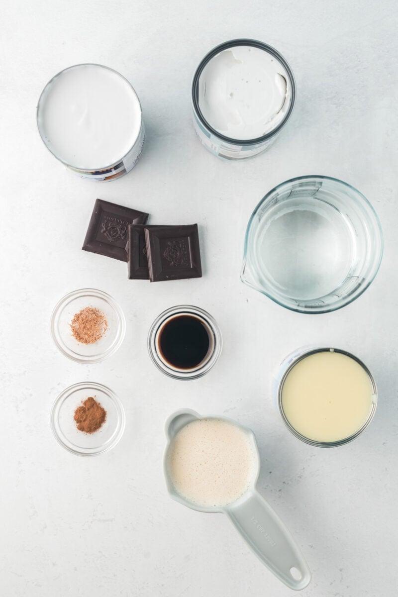 Ingredientes para hacer la receta.