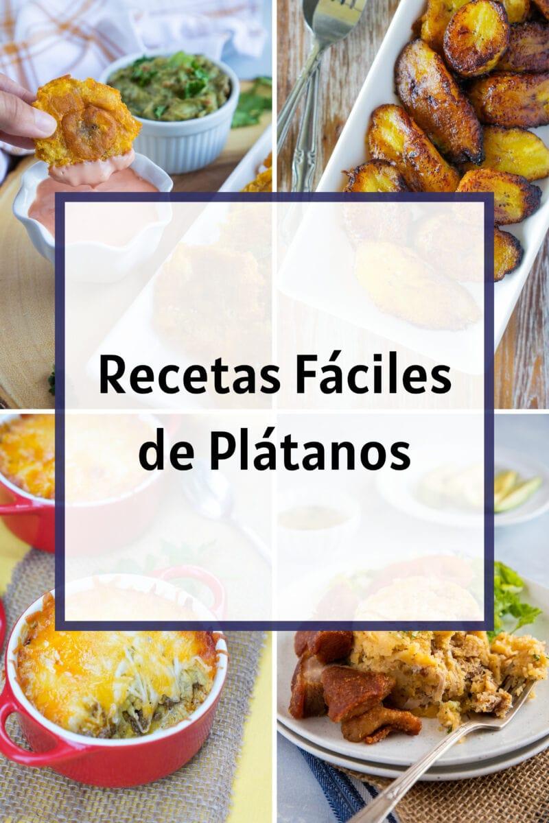 Graphic. Easy plantain recipes.