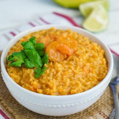 Asopado de Camarones (Shrimp and Rice Soup)