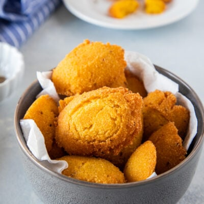 Arepitas de Maíz (Cornmeal Fritters)