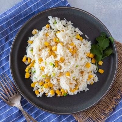 Arroz con Maiz (Rice and Corn)
