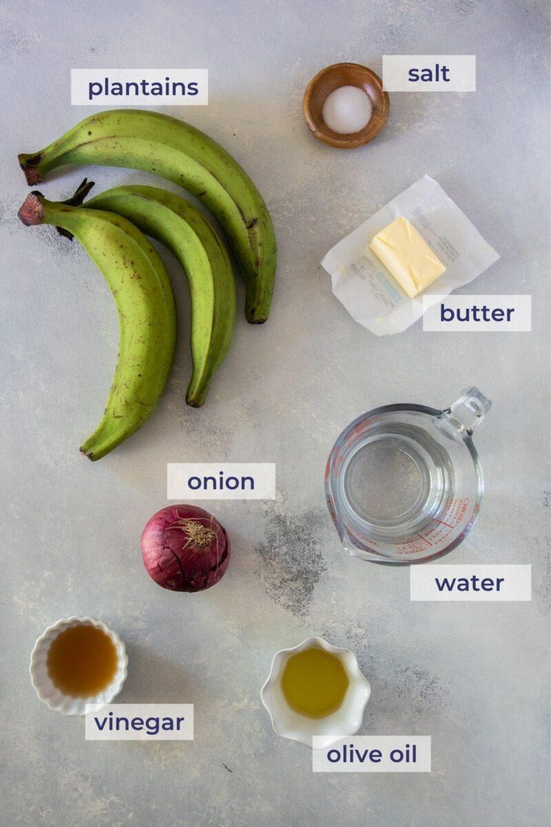 Mangu Ingredients